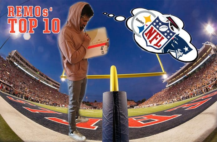 Remos Top 10 NFL Spiele