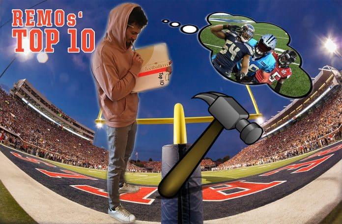 Remos Top 10 NFL Linebacker