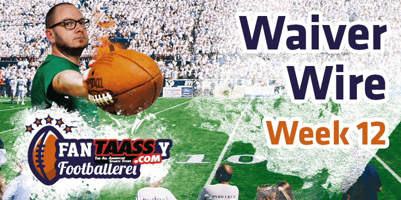 Fantasy Football – Footballerei Waiver Wire Week 12