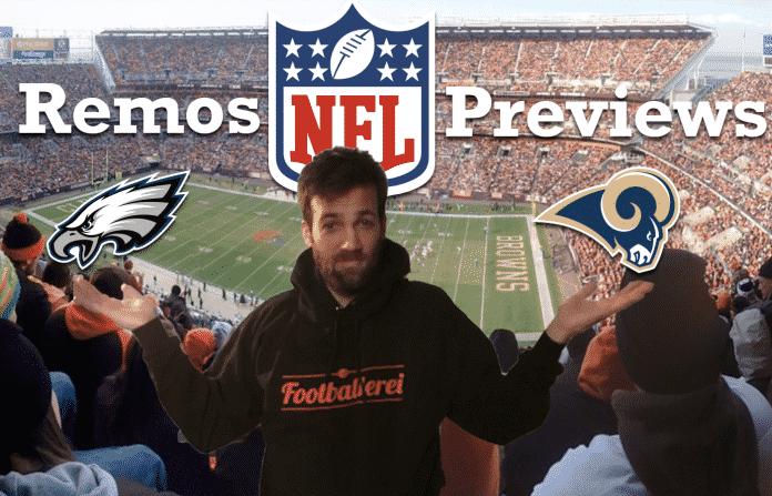 Remos NFL Week 14 Preview: Eagles-Rams, Seahawks - Jaguars