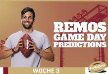 Fitzmagic zersägt auch Steelers Remos Week 3 Predictions