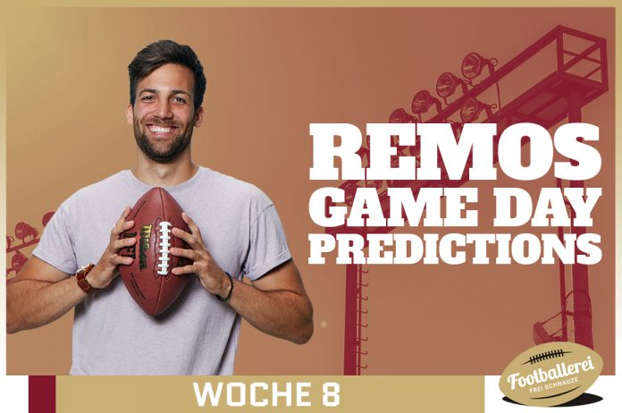 No Minneapolis Miracle - Remos NFL Week 8 Predictions
