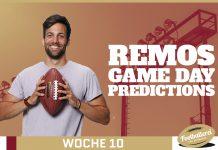 Toilet Bowl - Remos NFL Week 10 Predictions