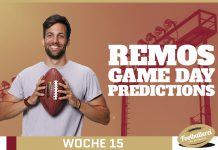 Remo NFL week 15 Predictions