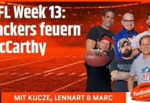 NFL Week 13: Packers feuern McCarthy