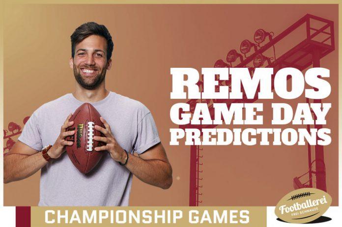 Remos Conference Championship Predictions