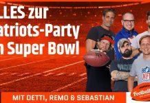 alles zum Patriots Sieg im Super Bowl