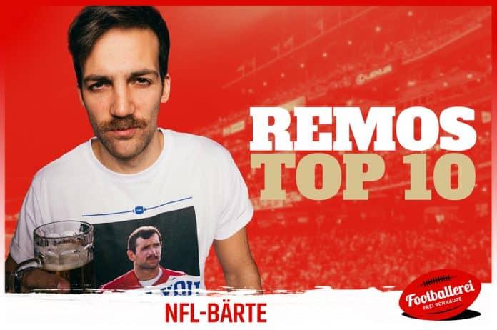 Top 10 NFL Bärte